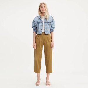 Levi's Women's Balloon Leg Pants, Dull Gold